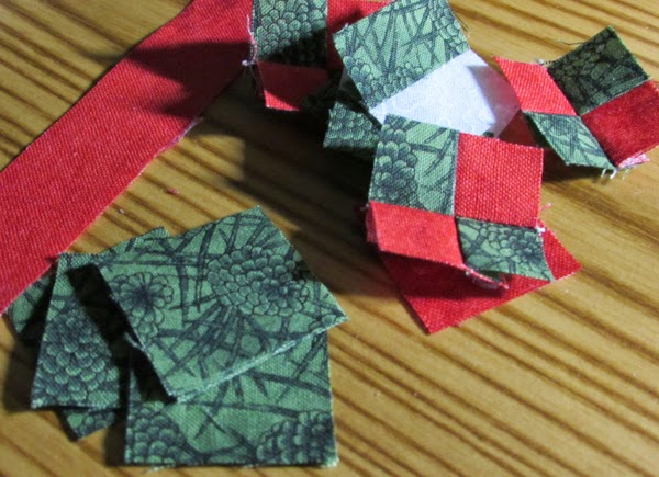 quilted ornament making