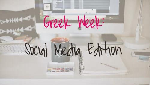 Sorority Greek Week: Social Media Edition