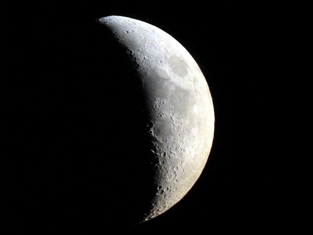 Ebb la nasa logr compilar un video de la superficie de la for Que es luna creciente