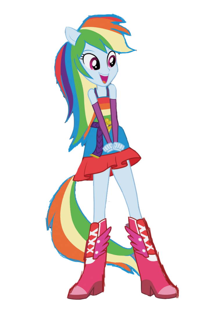Amazoncom My Little Pony Equestria Girls Rainbow Dash