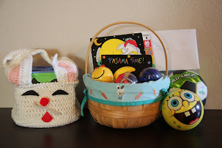 A wide line april 2012 so we filled the little rabbit basket again plus i upgraded q to a bigger easter basket to contain the rest of his loot negle Images