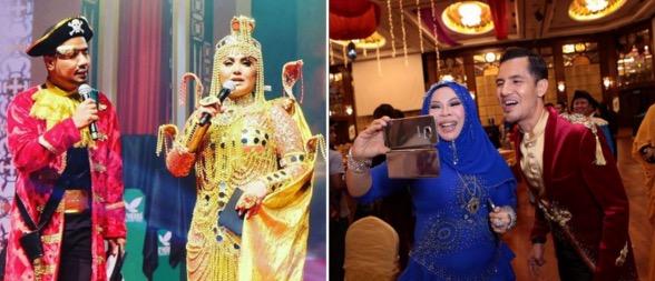 Gaya selebriti di Malam Gala Fantasi anjuran Datuk Aliff Syukri Terlajak Laris
