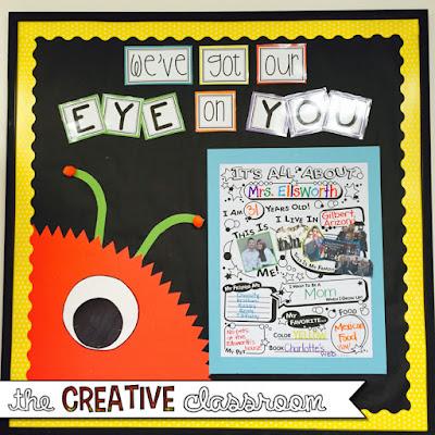 Monster theme bulletin board ideas