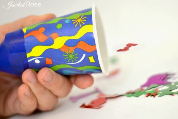 Party poppers- how fun!