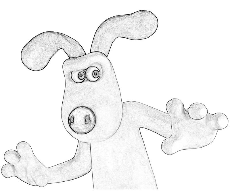 Shaun The Sheep Gromit Profil Mario Shaun The Sheep Coloring Pages