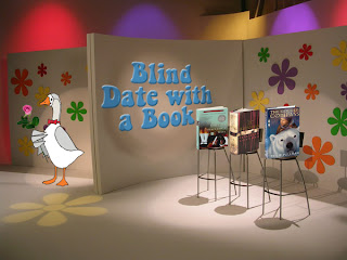 Jorge on the set of Blind Date with a Book