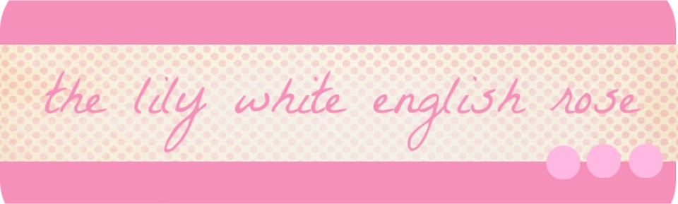 the lily white english rose