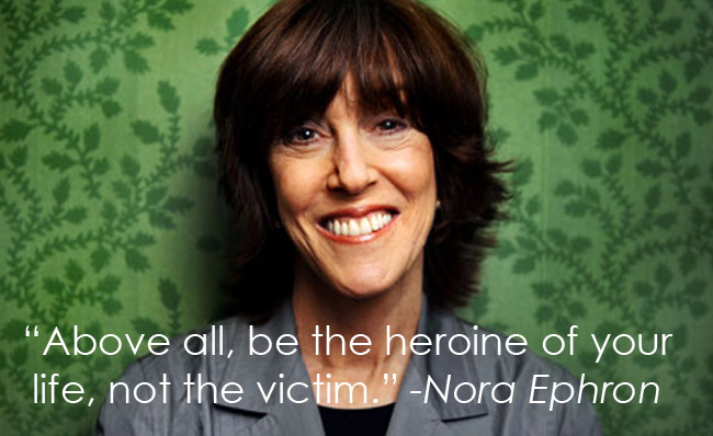 nora ephron essay a few words about breasts
