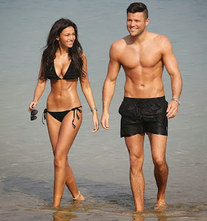 Michelle Keegan exposes her tanned bikini body with bf Mark Wright in Dubai Candids Cleavages Ass