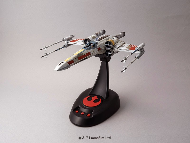 bandai star wars x wing starfighter