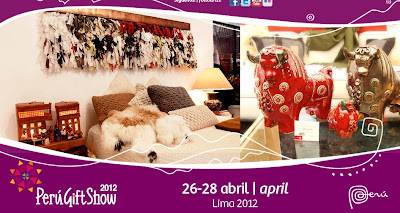 PERU MODA ABRIL 2012 GIFT SHOW 2012
