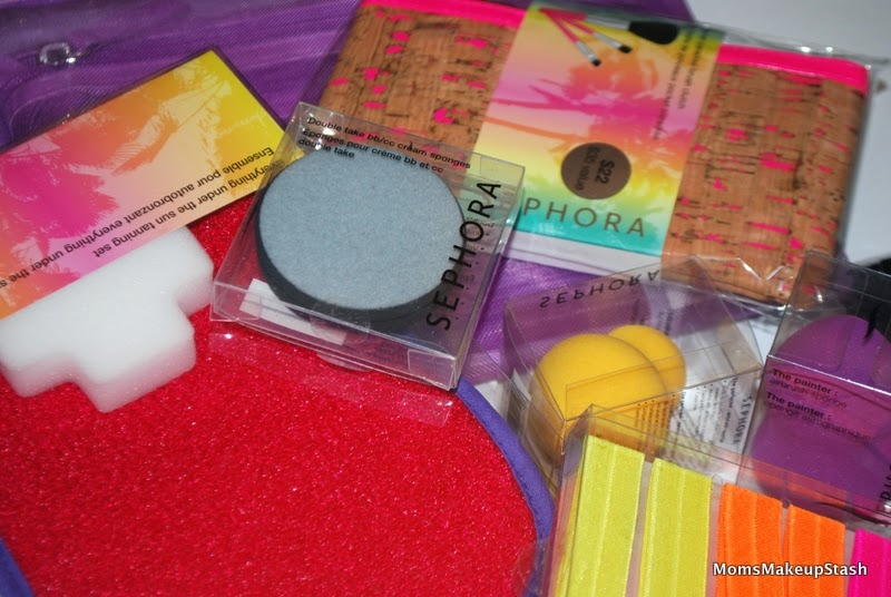 Sephora Collection, Sephora Review, Sephora Tools, Sephora Accessories, Makeup Sponges, Makeup Brushes, Tanning Mitt, Makeup Bags