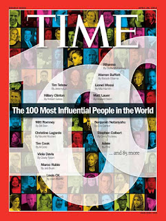 portada revista Time The 100 Most influential people