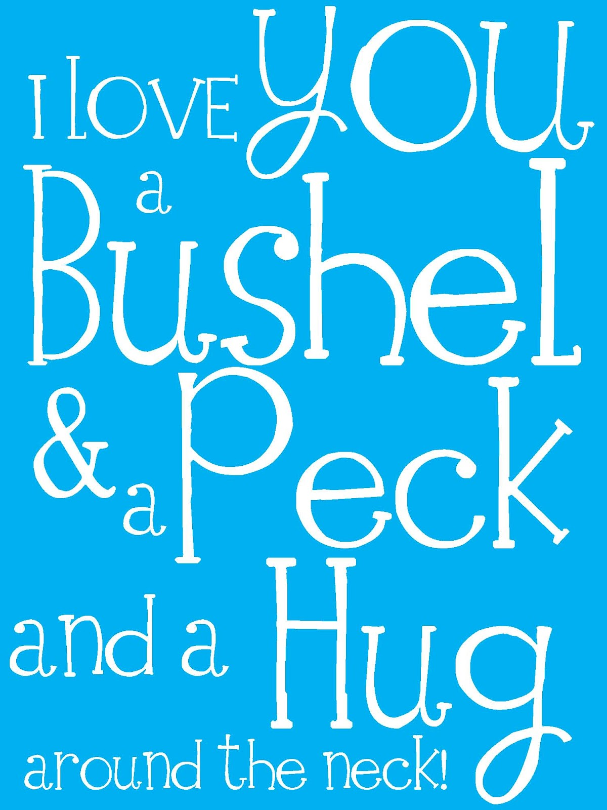 A Bushel and a Peck - Wikipedia