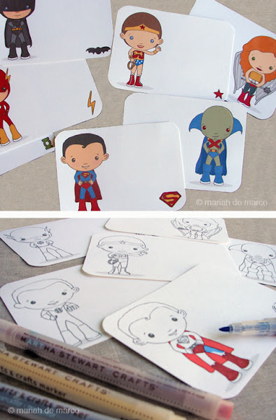 Girl Superhero Printables Free