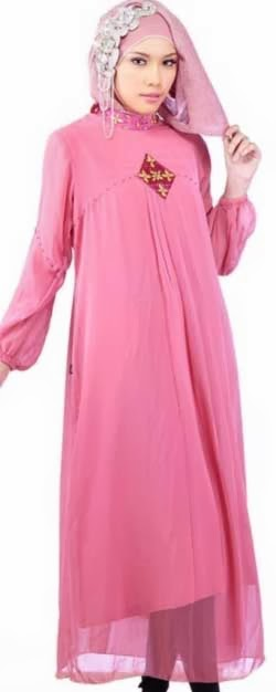 Model Baju Gamis Wanita Modern Terbaru