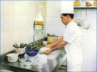 Choko world s a buenas practicas de higiene de equipos y for Limpieza y desinfeccion de equipos y utensilios de cocina