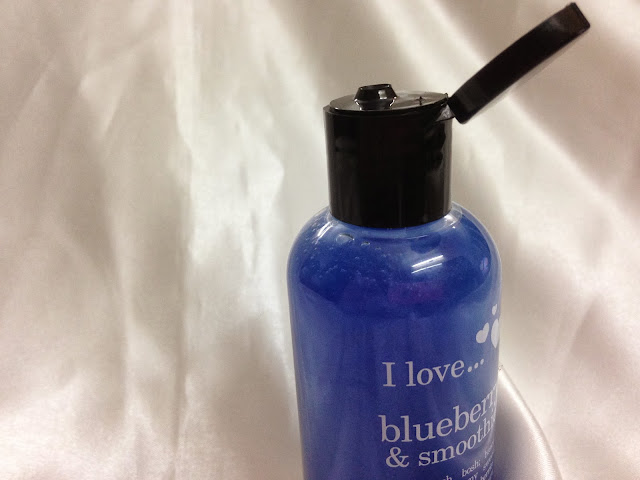I Love... Blueberry & Smoothie ~ Bubble Bath & Shower Gel