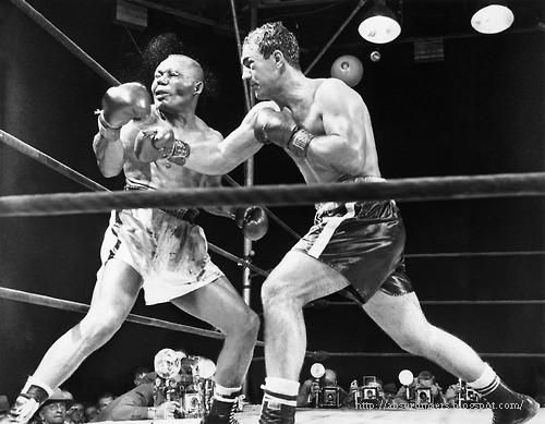 Rocky Marciano fights Jersey Joe Walcott - Municipal Stadium, Philadelphia, Sept 23, 1952