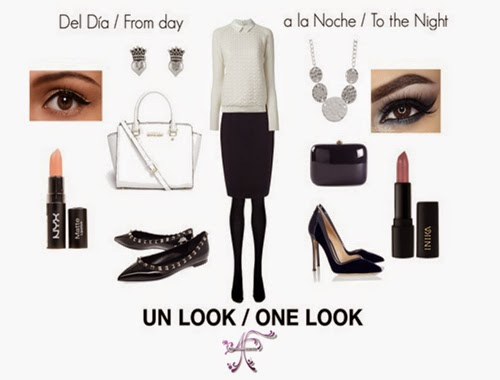Transform one look from day to night