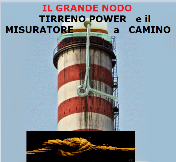 TIRRENO POWER IL NODO PRINCIPALE E' IL MISURATORE SME A CAMINO .