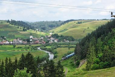 Vedere spre satul Filpea