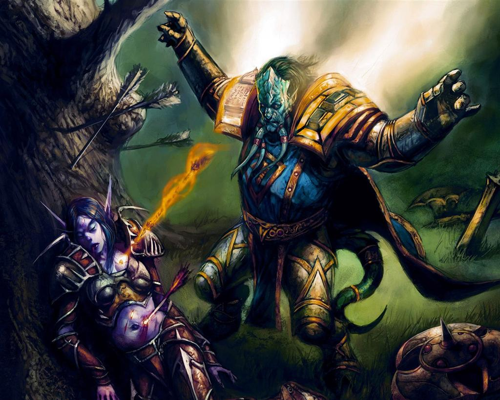 World of Warcraft HD & Widescreen Wallpaper 0.558568318412981