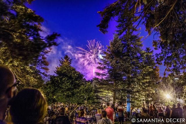 Congress Park Fireworks