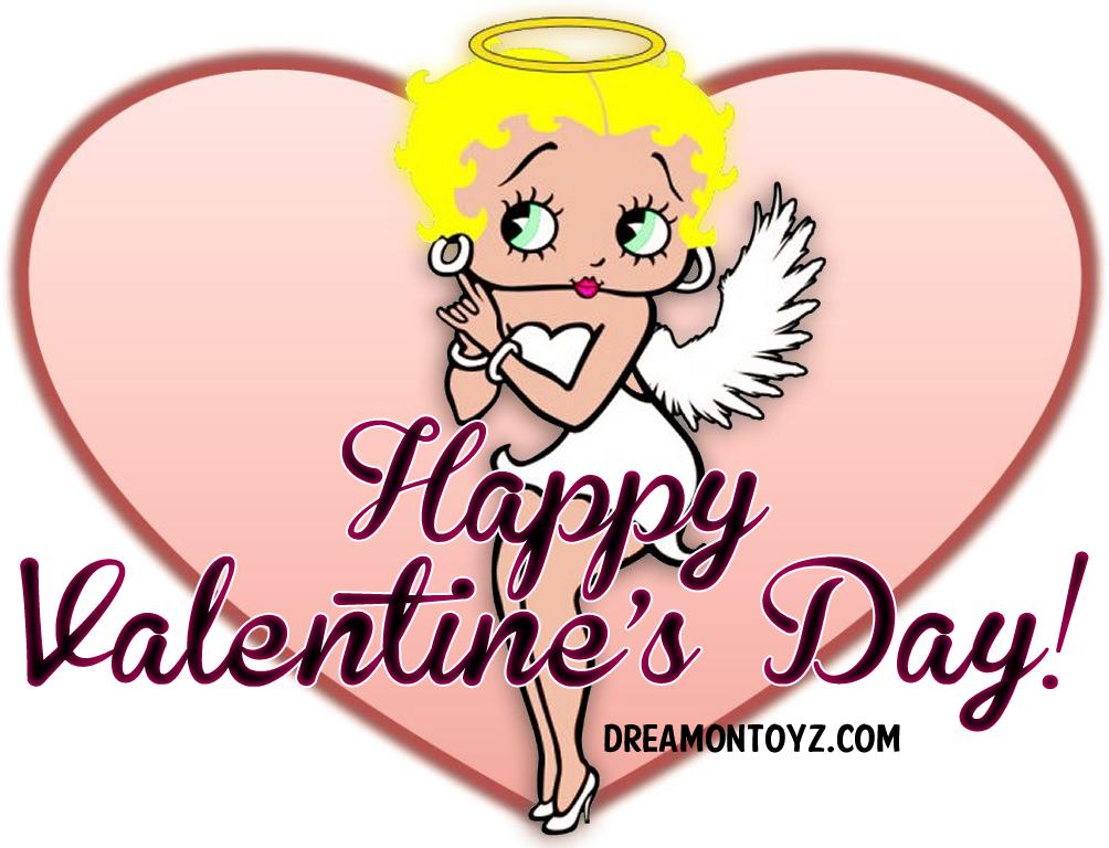 Betty Boop corazon  San Valentín