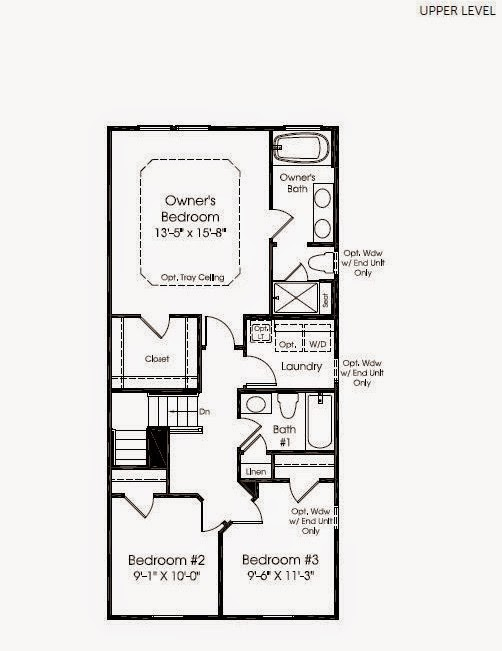 Building our strauss townhome our floorplan for Ryan home plans