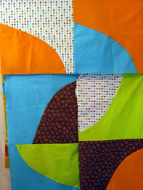 QAYG quilt top sample work in progress