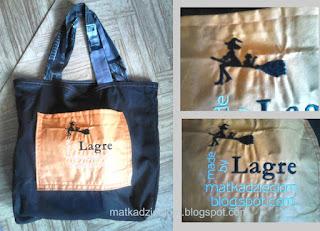 eko torba z wyszywanym logo