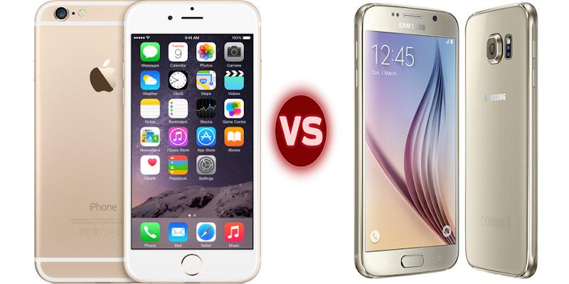 iPhone 6 vs Galaxy S6