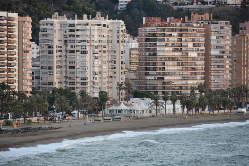 Port of Malaga Malagueta Beach