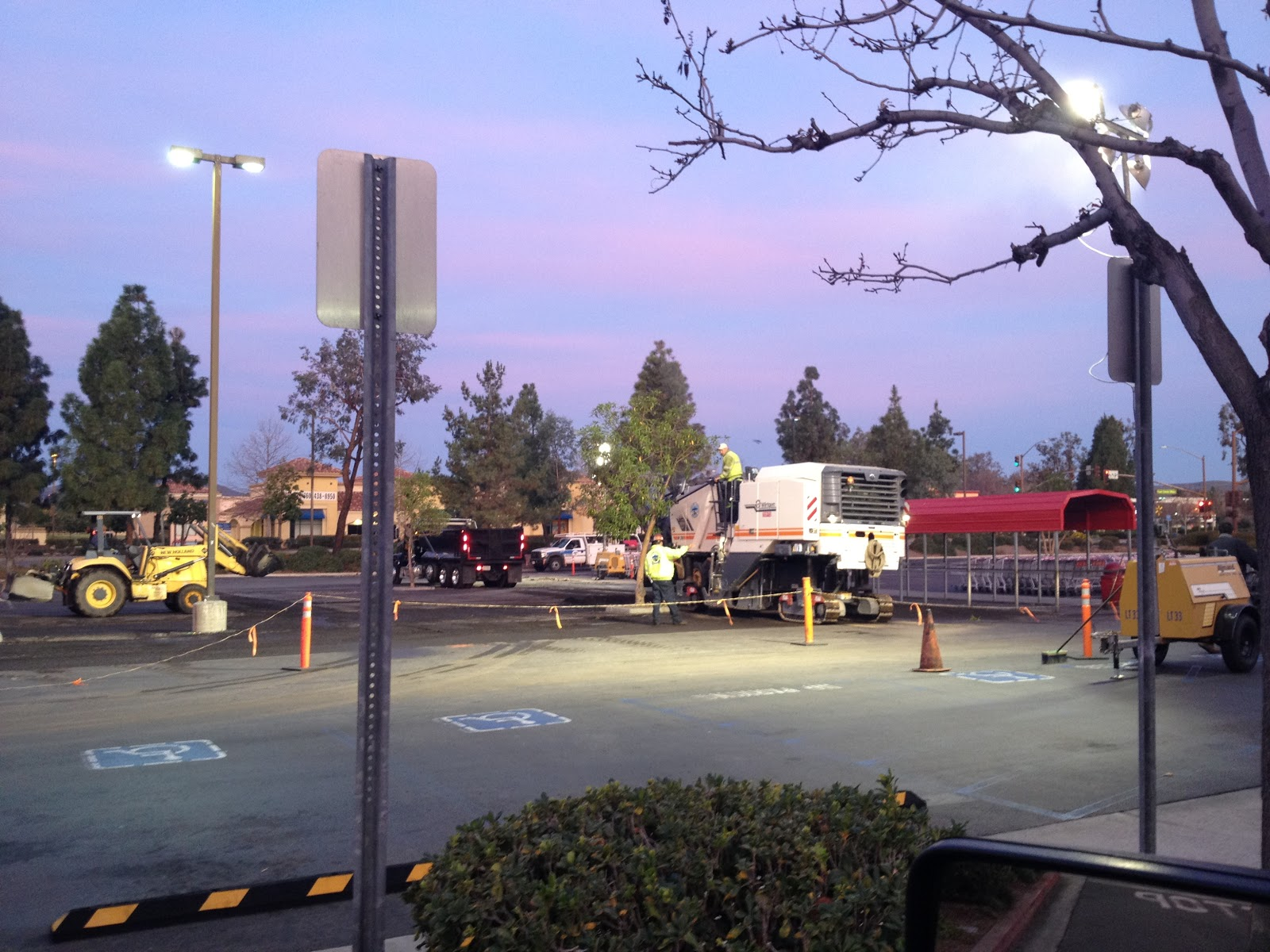 international paving services paving costco santee ca the dirt day 2 arrive at 2 a m pave 600 tons of hot asphalt rolled tested for compaction and complete by 8 a m lot ready to open for business by