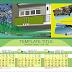 Template Kalendar Meja PS AX1 Murah