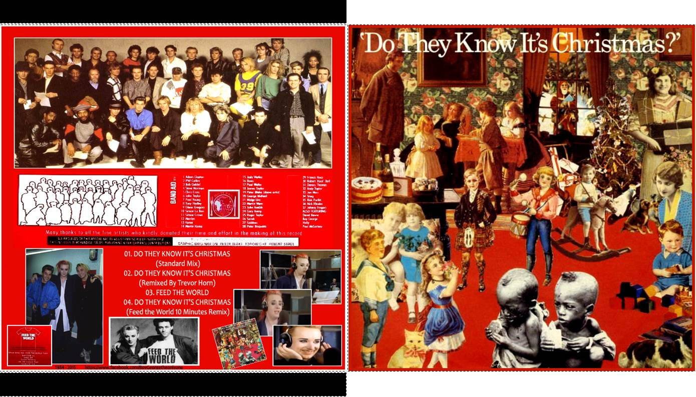MA BOYGEORGETHEQUE: BAND AID - Do They Know It's Christmas - CD ...