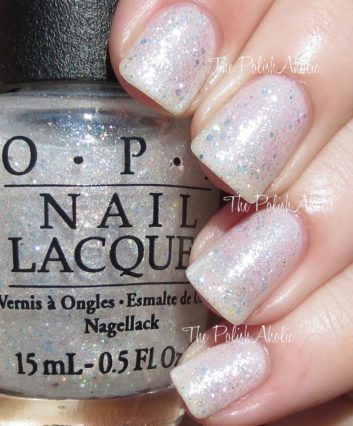 Opi White Nail Polish Shimmer