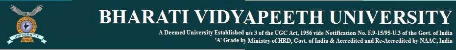 Bharati Vidyapeeth University 2015 CET