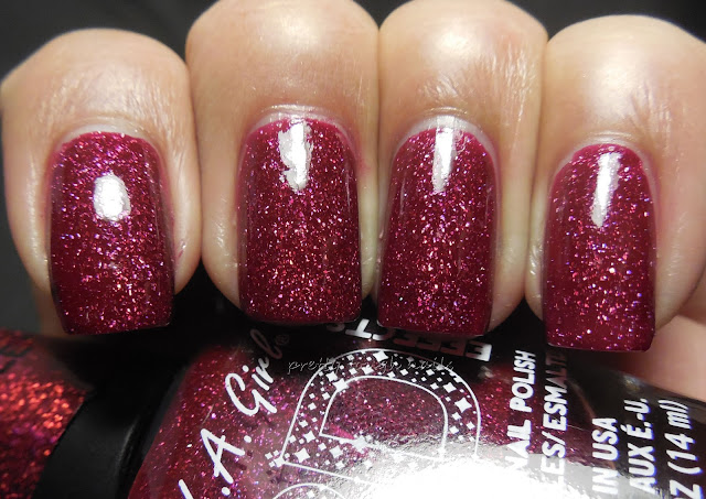 LA Girl 3D Holographic Sparkle Ruby