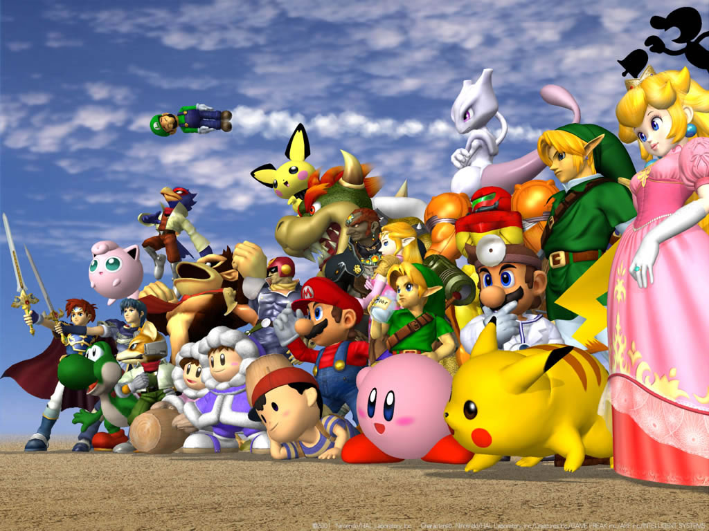 Super Smash Bros. Melee Characters
