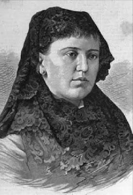 Rosario de Acuña,grabado