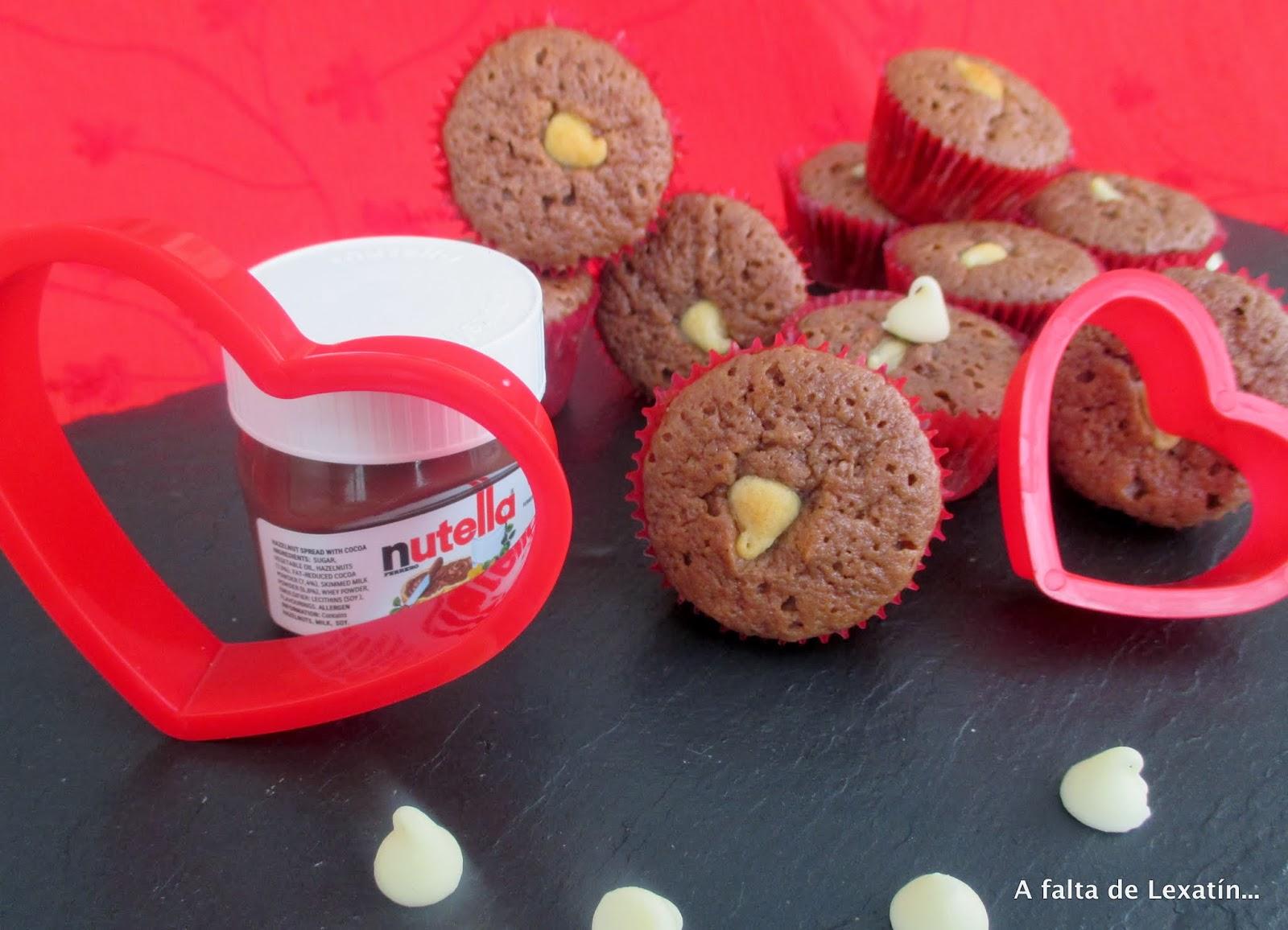 Mini Muffins de Nutella