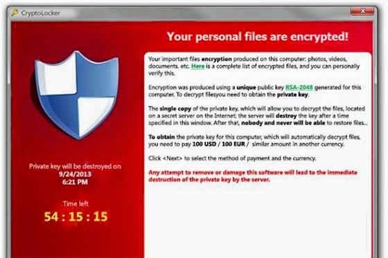 Amaran Cybersecurity Malaysia Keluarkan Nasihat Mengenai Virus Ransomware