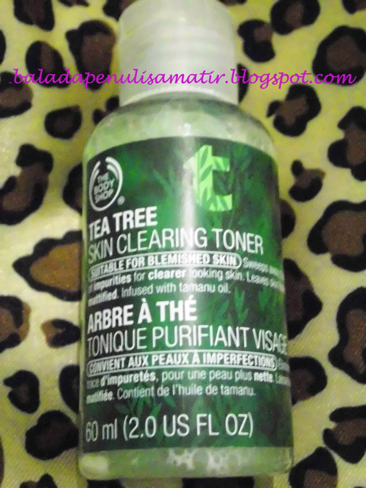 Beauty Talks The Body Shop Tea Tree Skin Clearing Toner Review 60ml Well Let Me Add One More Into Ur Reference Ill Share My Experience About This Product Based On Own Point Of View We All Know That Everyone Has