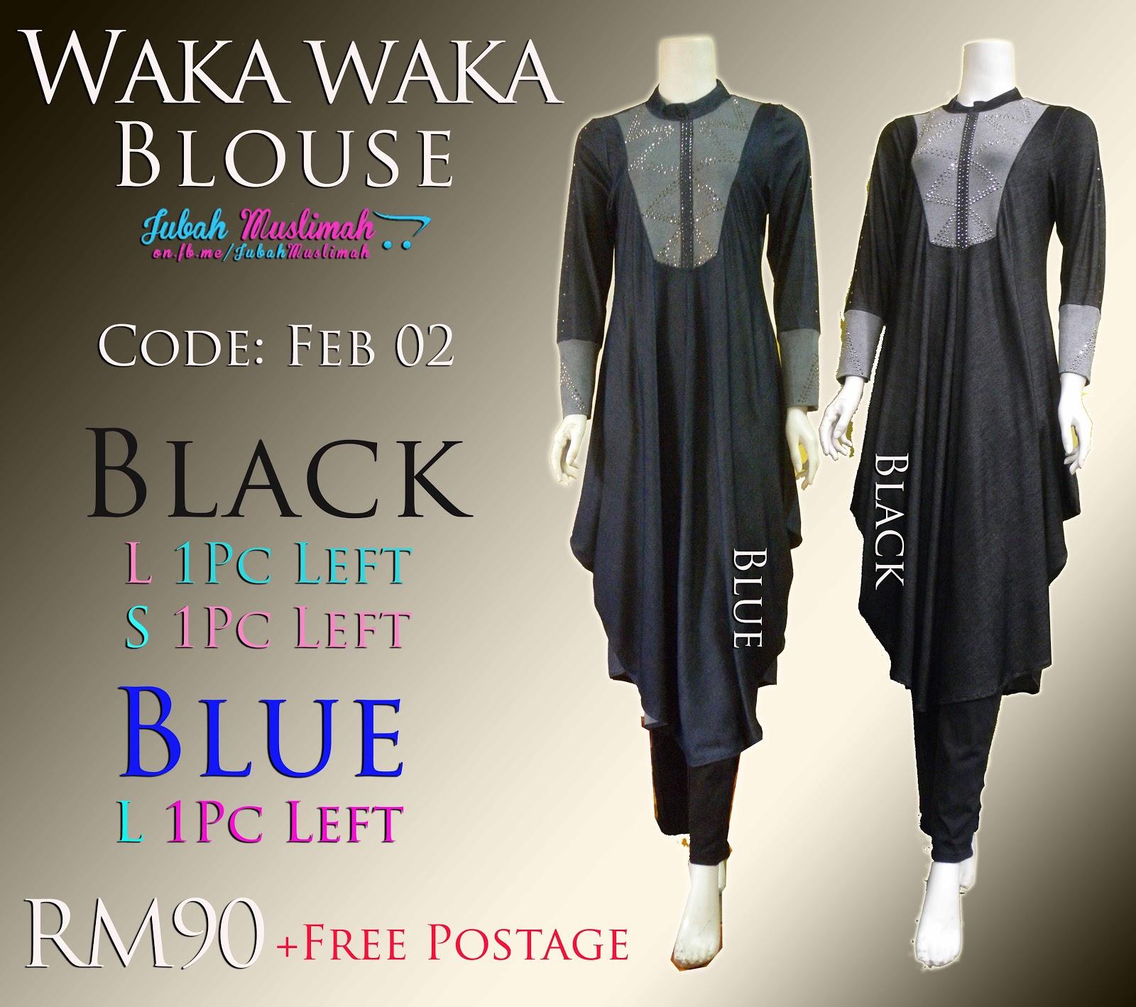 Waka Waka Long Blouse 47