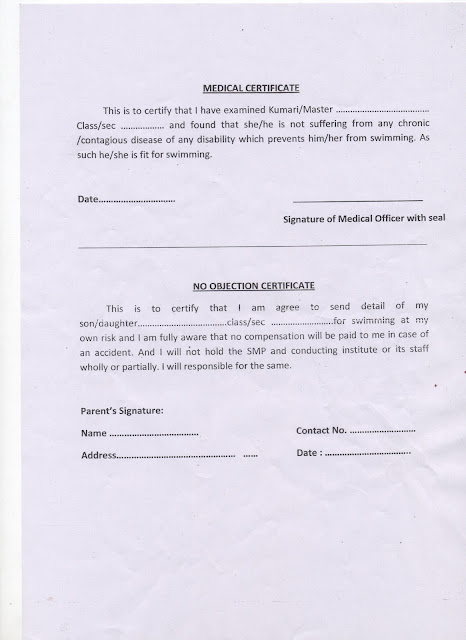 format of no objection certificate from employer – Noc Format for Passport