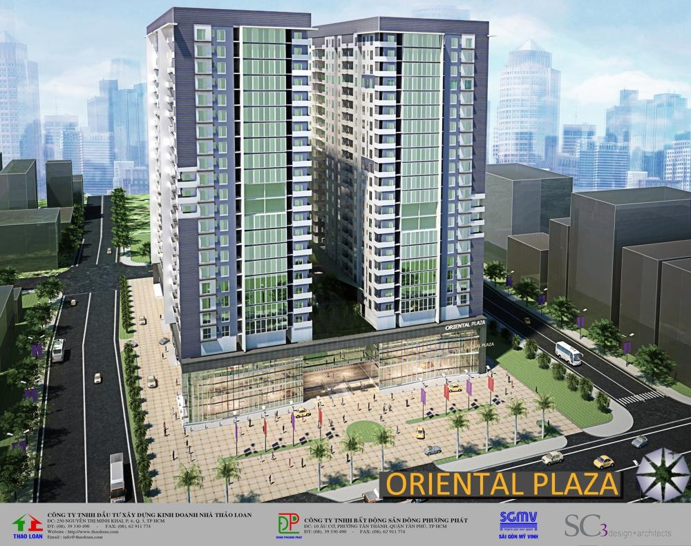 Chung cư Oriental Plaza