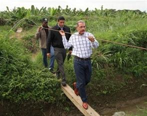 Danilo Medina en el Proyecto La Cruz de Manzanillo