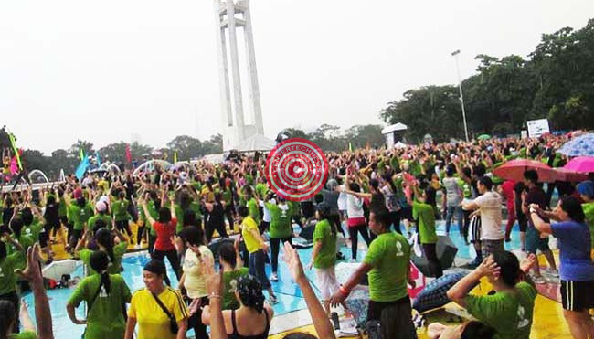 Philippines Attempt to Grab the Guinness World Record of Largest Zumba Dance Failed last October 12, 2014